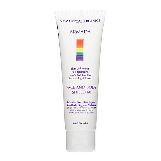 Quit carrying around two bottles of sunscreen, and grab Armada Face and Body Shield ($49). Its SPF 60 protection is formulated for both your face and your body.
