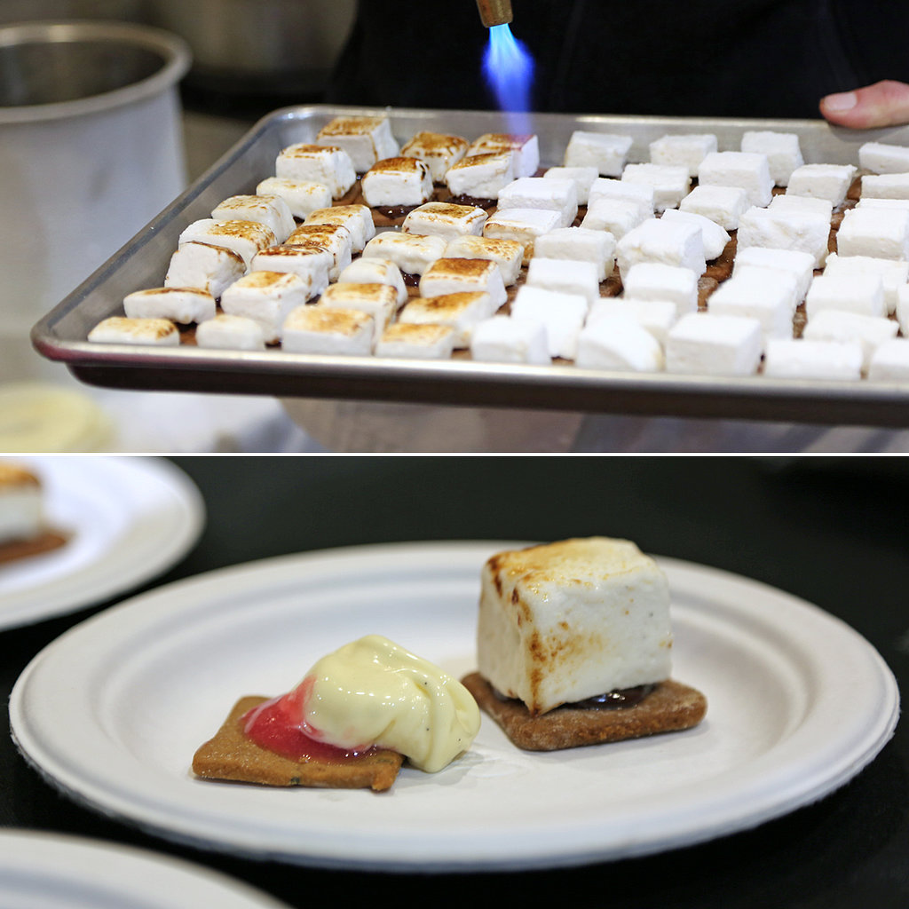 Goat Cheese S'mores and Raspberry-Rosemary Ice Cream Sandwiches