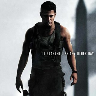 Channing Tatum on White House Down Poster
