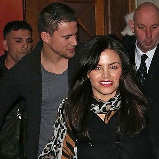 Channing Tatum and Jenna Dewan at Fan Event in London