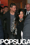 Channing Tatum and Jenna Dewan attended a fan event for his new movie White House Down.
