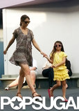 Katie Holmes and Suri visited Disney World.