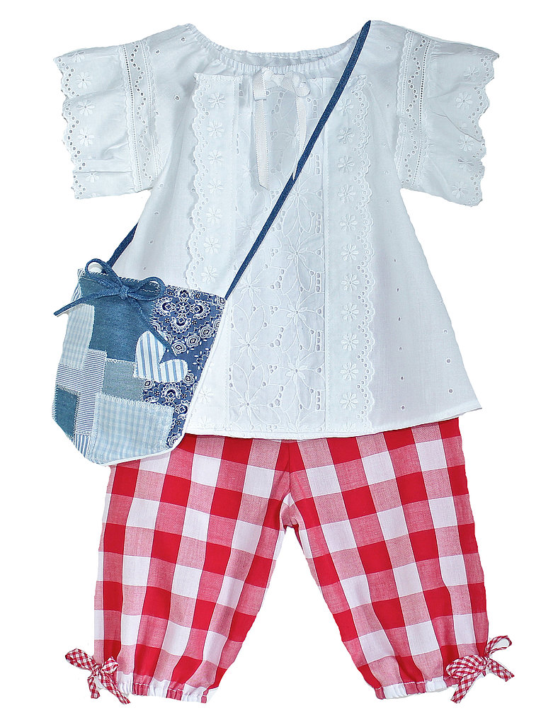 Eyelet Blouse and Pantaloons