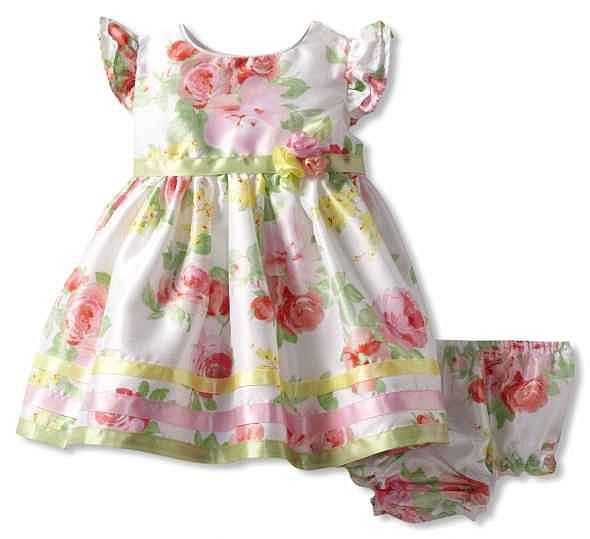 Sweet Heart Rose's Floral Easter Dress