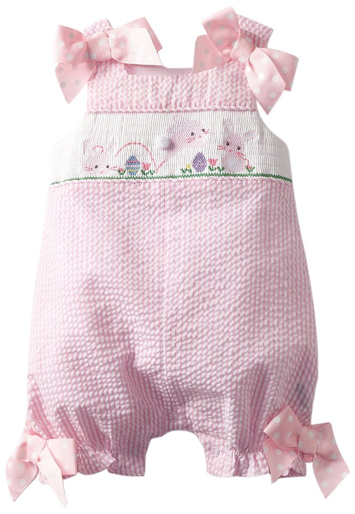 Mud Pie's Bunny Smocked Bubble ($45) is a precious pick for your tiniest tot.
