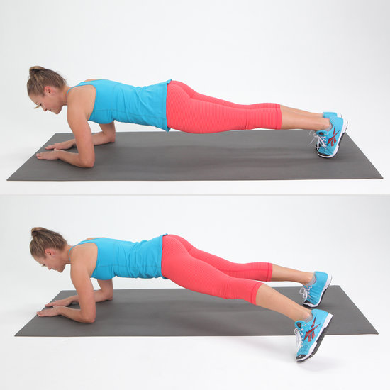 Plank With Side Step