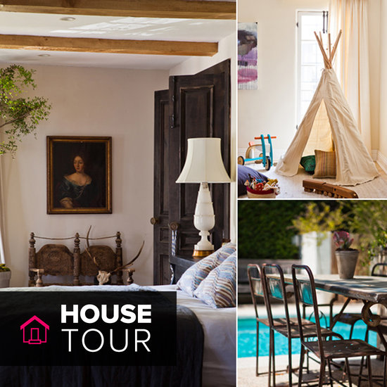 House Tour: Estee Stanley's European Inspired LA Home
