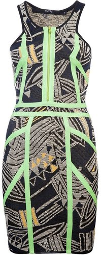 Cut25 Techno knit dress