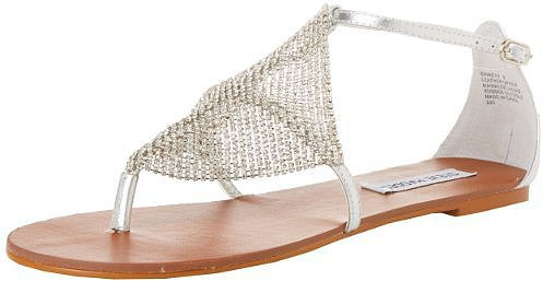 Steve Madden Women's Shineyy Thong Sandal