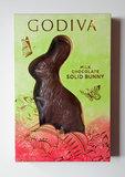 Godiva Solid Milk Chocolate Bunny