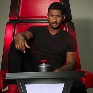 Usher and Shakira on The Voice Review