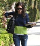 Jennifer Garner Brings Treats on a Sweet LA Outing