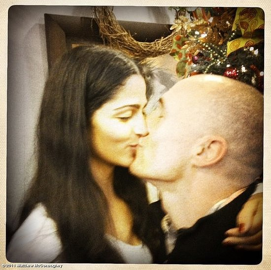 "Matthew McConaughey spread the exciting news by posting a Christmas 2011 snap of himself and new fiancée Camila Alves with the caption ""just asked Camila to marry me. Merry Christmas."" Source: Matthew McConaughey on WhoSay"