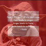 Yoda's quotes can apply to so many situations.  Source: Instagram user high_on_hiddles