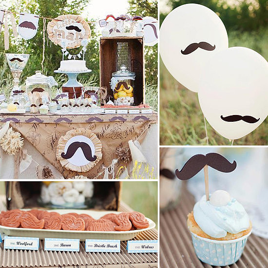 Baby Showers: A Little Man Mustache Baby Shower