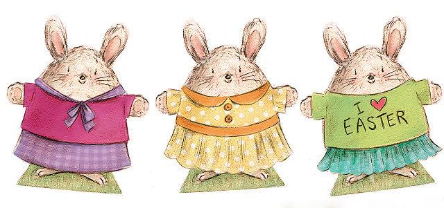 Easter Paper Dolls