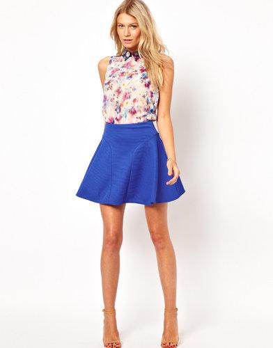 ASOS Mini Skirt in Texture