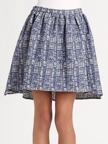 The Man Repeller x PJK Wendy Fit-and-Flare Skirt