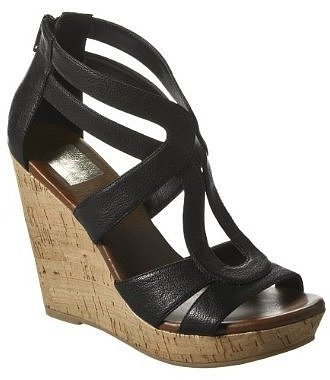 Women s Dolce Vita for Target^ Cork Wedge Sandals - Black