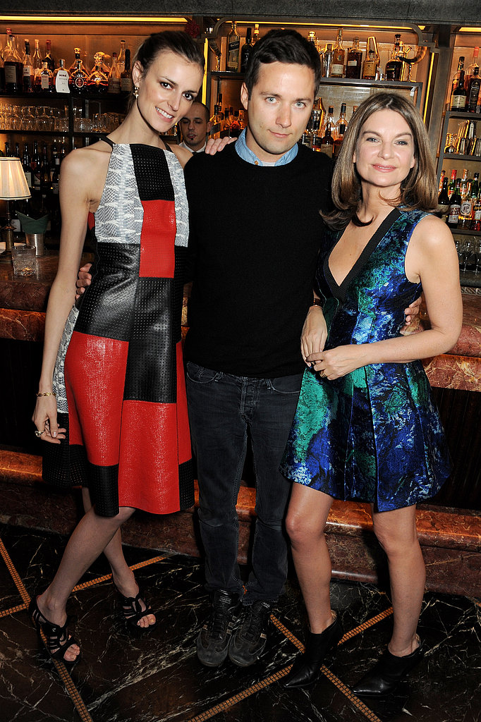 Jacquetta Wheeler, Jack McCollough, and Natalie Massenet