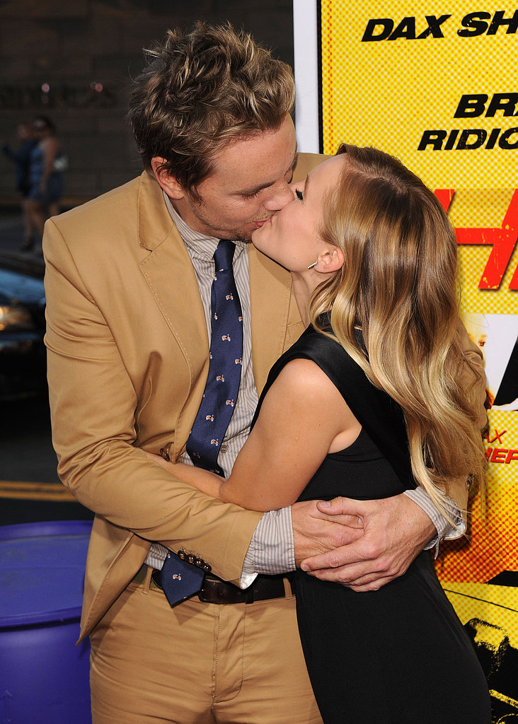 Kristen Bell and Dax Shepard couldn't keep their hands off each other at the August 2012 LA premiere of Hit and Run.