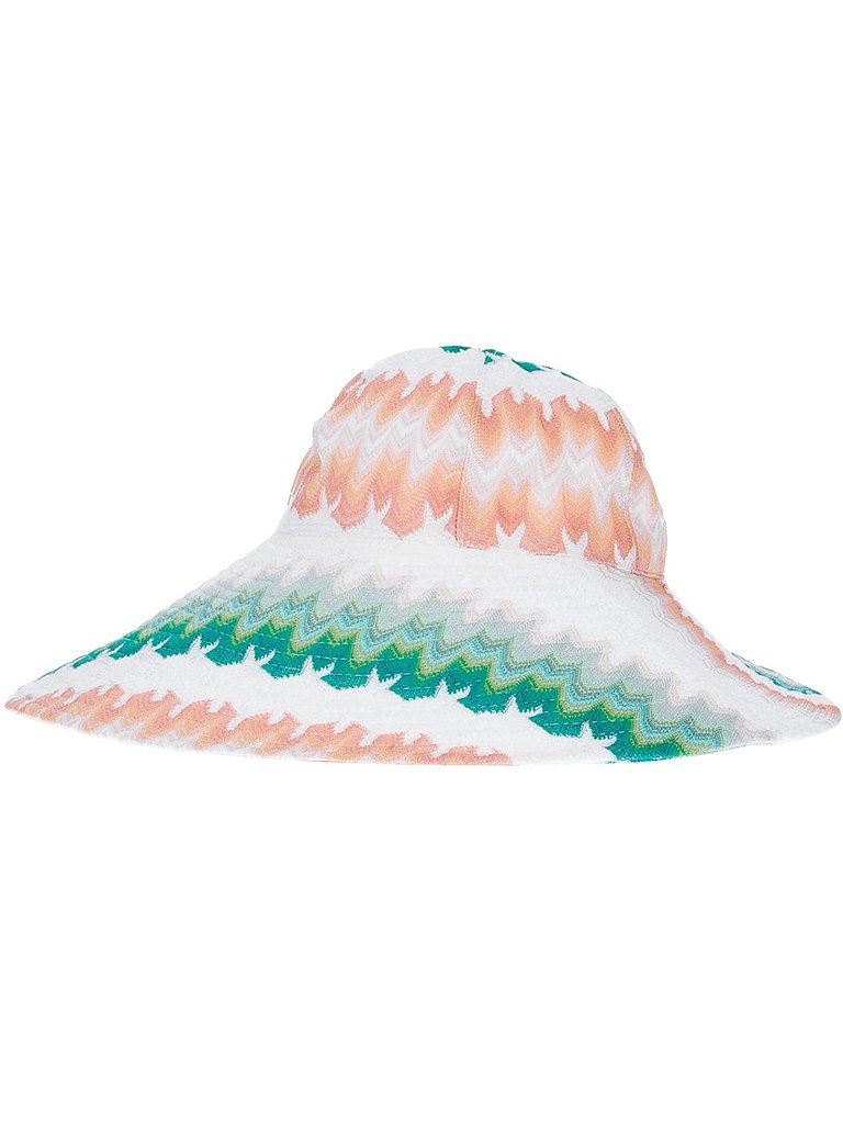 This list would be incomplete without the famous Missoni chevron print. Style this Missoni sun hat ($199) with a mint sundress and gold sandals for a road trip to the Hamptons.