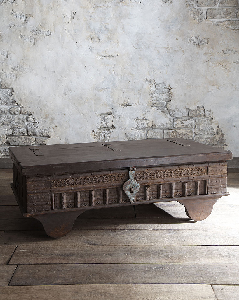 This coffee table ($975) is just what you need to give your home a medieval touch.
