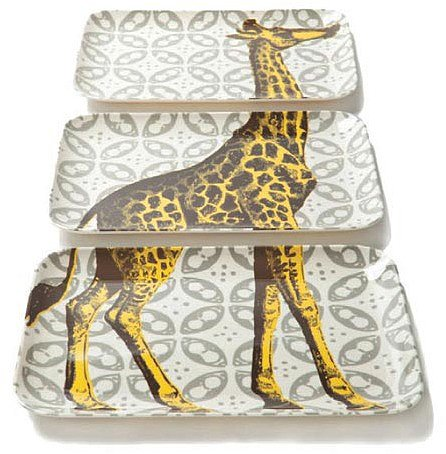 Thomaspaul - Bazaar Giraffe Tray Set