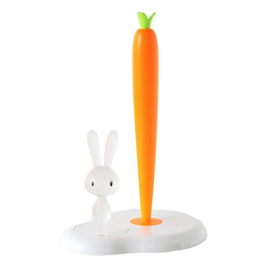 Bunny-Carrot Paper Towel Holder