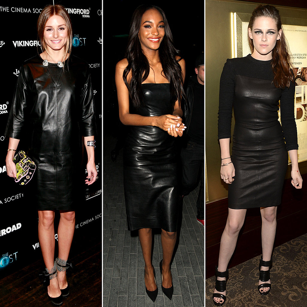 Hello, Leather: 24 Celebs Who Prefer a Much Edgier Kind of LBD