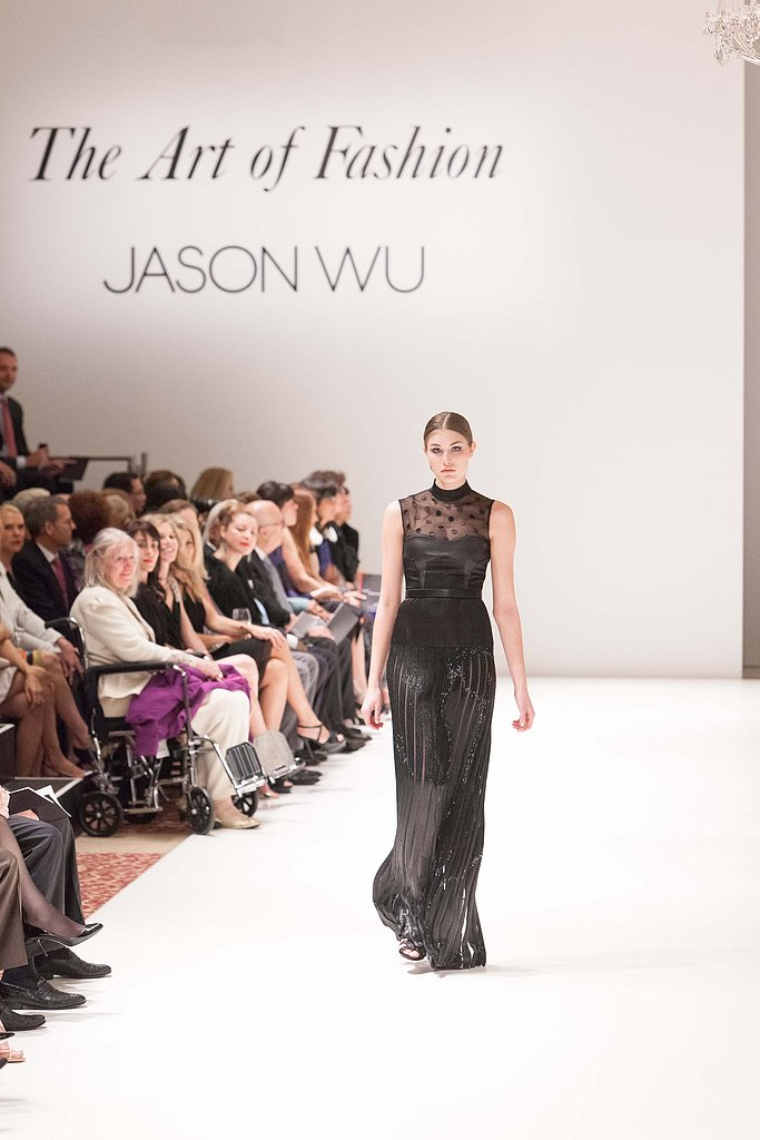 "This beautiful black gown screams ""Met Gala."" Who do you think will wear it first?"