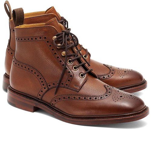 Peal & Co.® Pebble Wingtip Boots