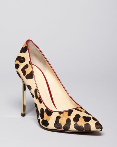 Enzo Angiolini Pointed Toe Pumps - Infiniti5 High Heel