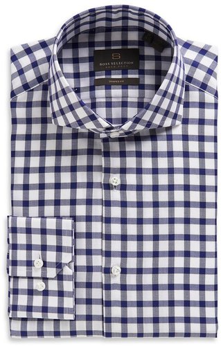 'Christo' | Modern Fit Spread Collar Dress Shirt by BOSS Selection