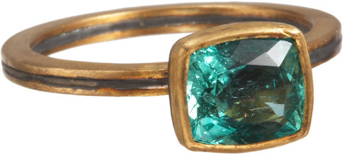 Judy Geib Colombian Emerald Ring