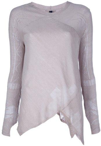 High long sleeve top