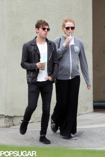 Evan Rachel Wood and Jamie Bell walked in LA together.