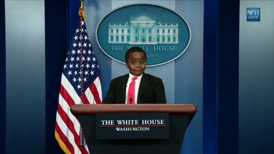 Video: Kid President Ends Up in the White House, Google's Smell Search, and Other April Fools' Jokes.