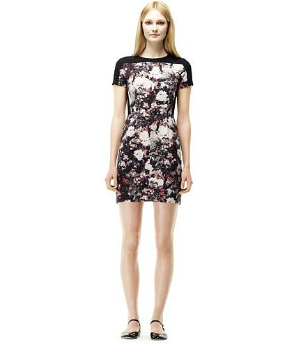 The abstract florals on this Club Monaco Willa dress ($180) are understated enough to take to work — and still cool enough to take out to dinner after.