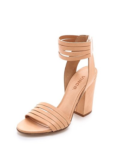 Practical? Absolutely. But more importantly, these Vince Lara banded sandals ($375) are just downright gorgeous; from the buttery leather to the banded straps, I'll want to wear them everyday and I will because of their sensible heel and go-with-everything, leg-lengthening hue. — Hannah Weil