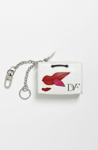 Diane von Furstenberg Shopping Bag Key Fob