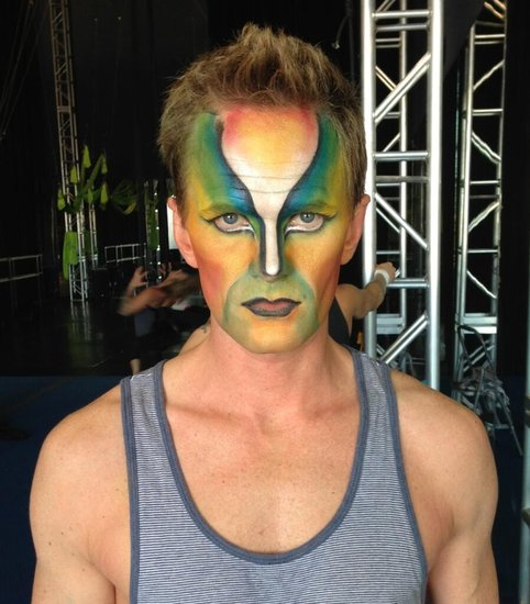 Neil Patrick Harris got some official Cirque du Soleil training in Las Vegas. Source: Twitter user ActuallyNPH
