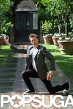 Michael Fassbender struck a hilarious pose during a September 2007 photocall for Angel in Rome.