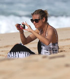Heidi Klum Returns to the Beach With Henry Following Drowning Scare