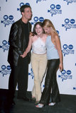 Freddie Prinze Jr. posed with Selma Blair and Sarah Michelle Gellar backstage in 2000, when Selma and Sarah won for best kiss in Cruel Intentions.