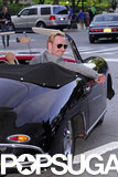 Michael Fassbender literally enjoyed the ride en route to the May 2011 premiere of X-Men: First Class.