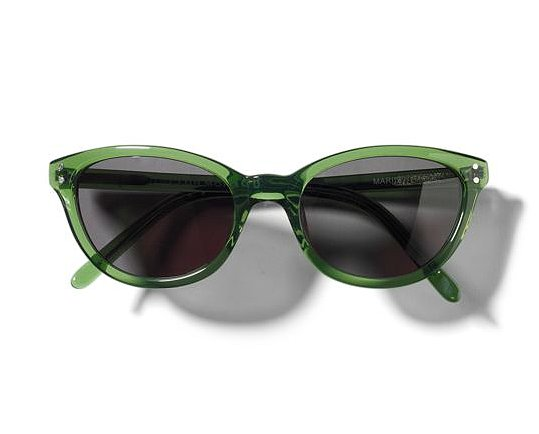 Selima Optique has joined forces with Club Monaco to bring two vintage styles — in four colors total — and they're now available exclusively at clubmonaco.com. We're currently eyeing the Marilyn in a Summer-perfect bottle green hue ($145).