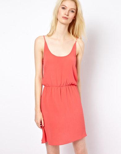American Vintage Silk Flippy Dress
