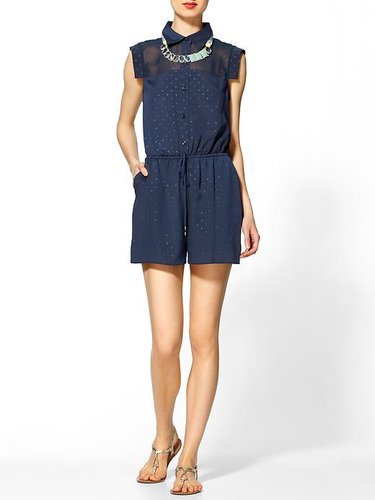 BCBGeneration Cont Piece Romper