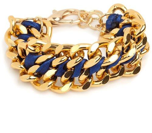 Blue Chunk Bracelet